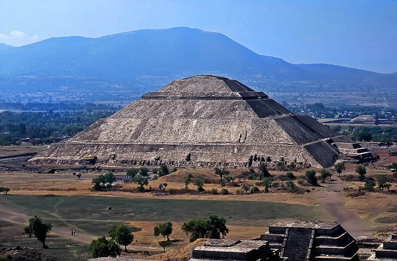 8 largest pyramids in the world with photos map touropia