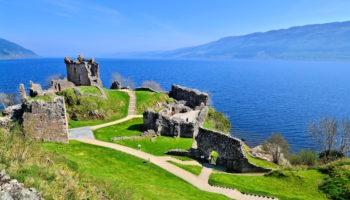 Castles Scotland Map on