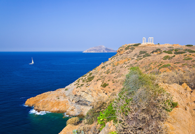 Situated At The Southernmost Tip Of Attica Peninsula Cape Sounion Is Best Known As Site Ruins Ancient Greek Temple Poseidon