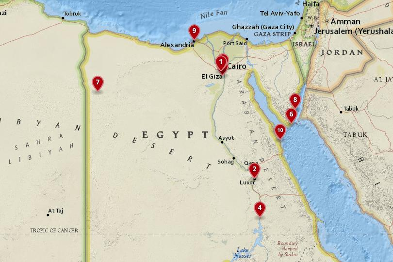 10 Best Places to Visit in Egypt (with Photos & Map) - Touropia