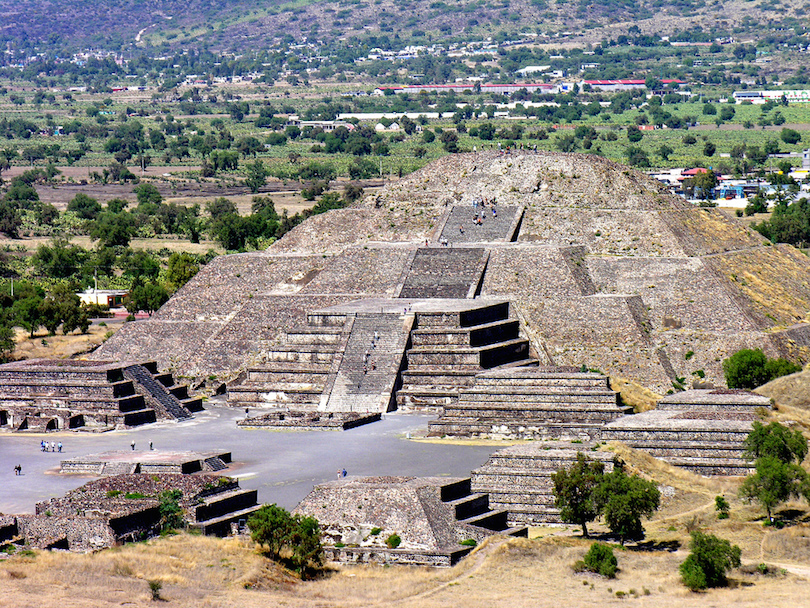 Pyramids In Mexico Map 7 Most Amazing Pyramids in Mexico (with Map & Photos)   Touropia
