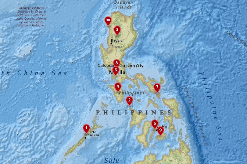 10 Best Places to Visit in the Philippines (with Photos & Map ...