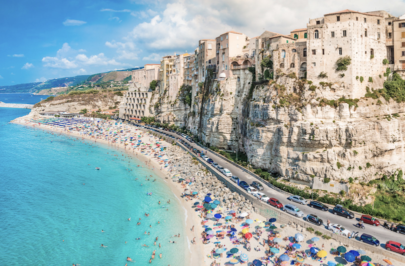This Ancient And Stunning Town Sits Among Sugar Sand Beaches Stark Cliffs Once Believed To Be Founded By Hercules Tropea S Natural Beauty Still