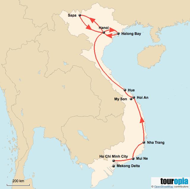 3 Week Vietnam Itinerary - Touropia