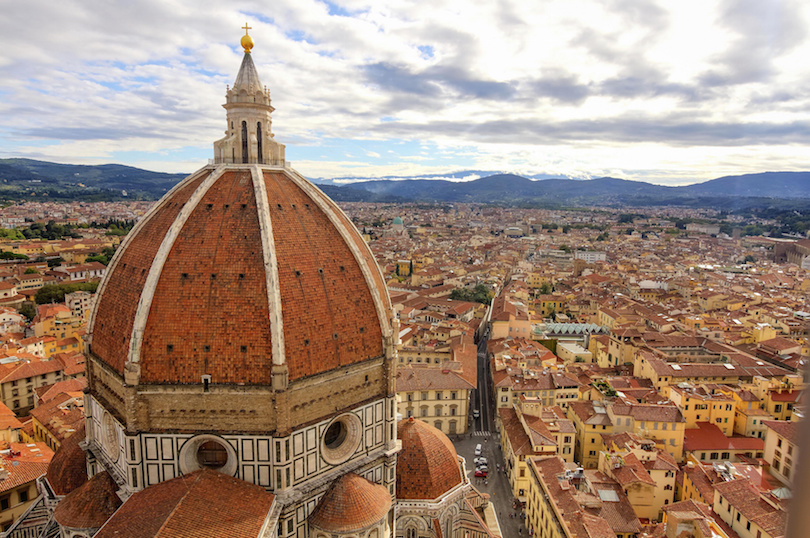 Florence: landscape with Santa Maria Maggiore Dome