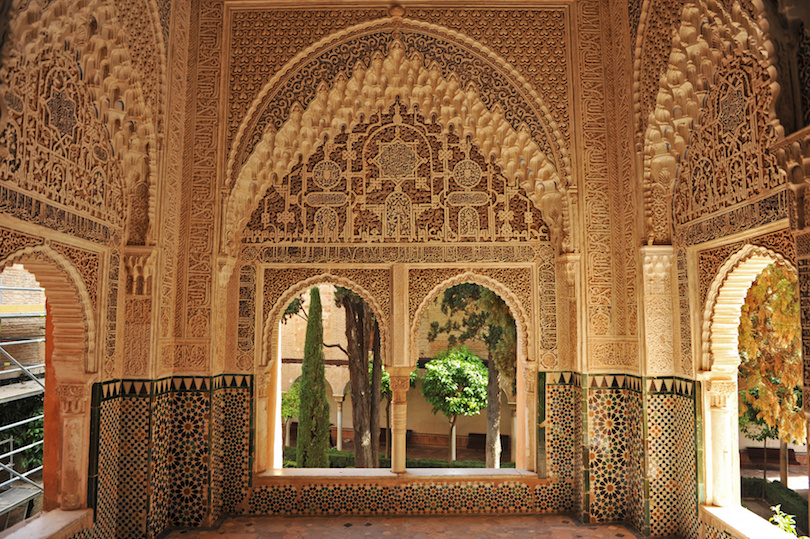 Mirador de Daraxa, Alhambra de Granada, Andaluca, Espaa
