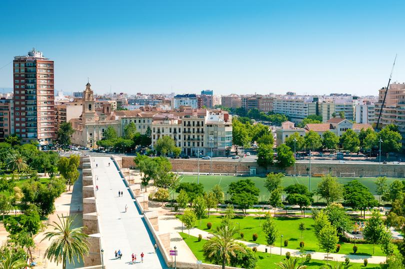 Park Turia in Valencia
