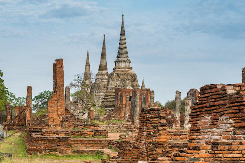 Wat Phra si sanphet at Ayutthaya