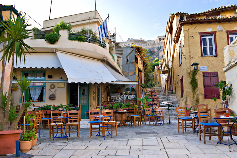 Cafe in Athens