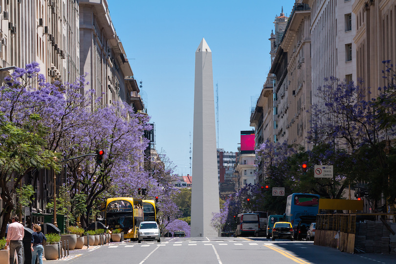 Obelisco in Buenos Aires