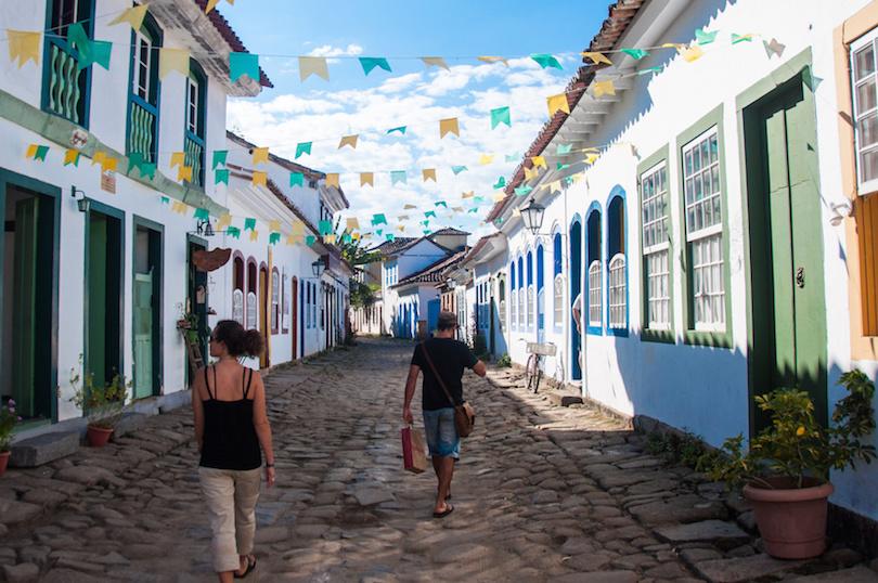 Old colonial town of Paraty, Rio de Janeiro