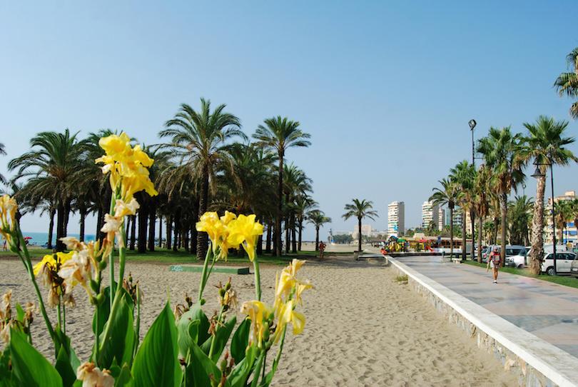 Playa y Paseo martimo, Torremolinos