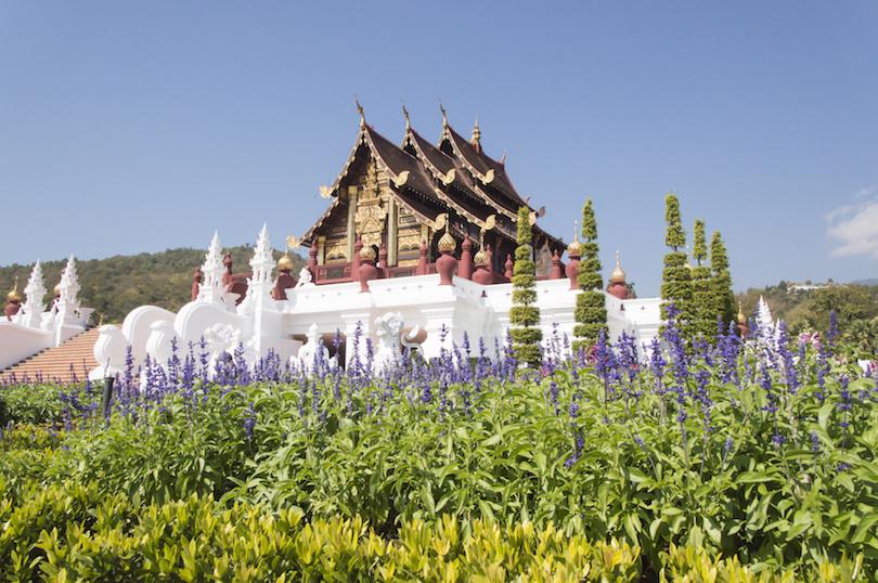 The Royal PavilionRoyal Park Rajapruek near Chiang Mai