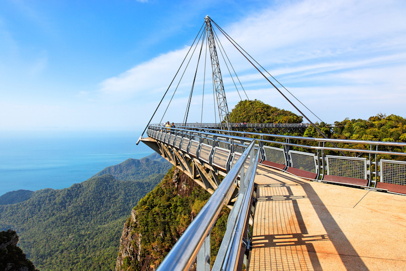 Suspension bridge, Gunung Mat Cincang, Langkawi