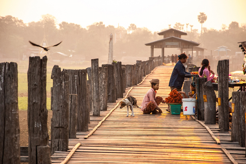 Ubein Bridge at Mandalay