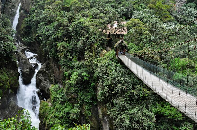 巴诺斯圣塔瓜的吊桥