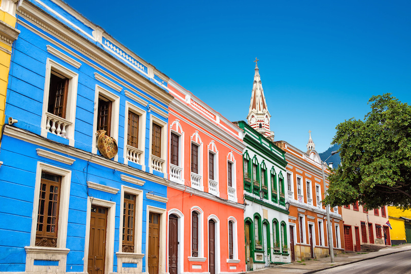Colorful Facades in La Candelaria