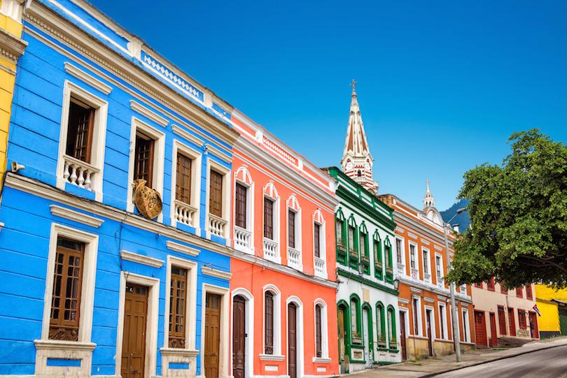 Colorful Facades in La Candelaria