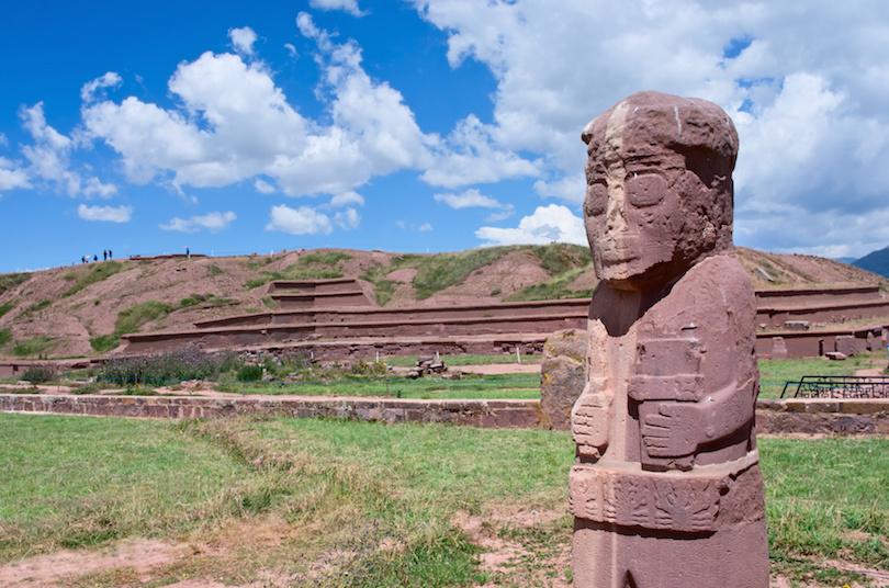 蒂瓦纳库遗址在玻利维亚