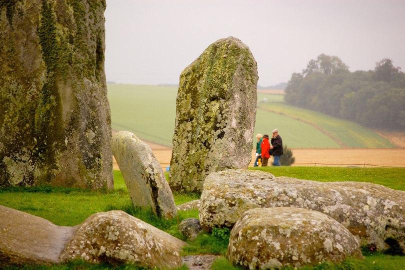 Stonehenge stone