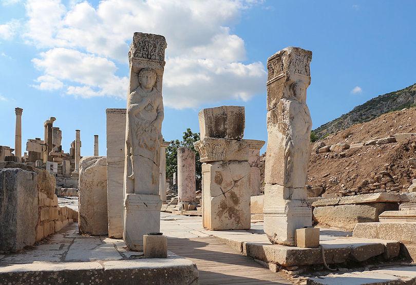 Ephesus Heracles Gate
