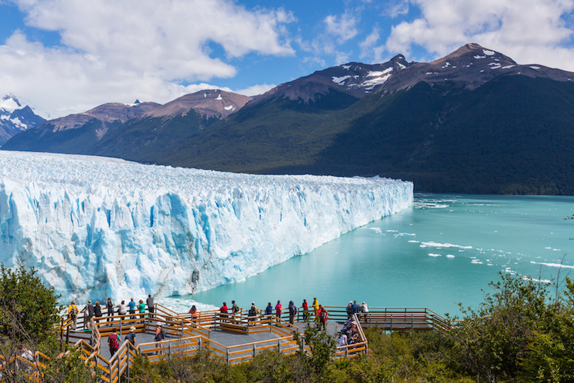 阿根廷佩里托莫雷诺冰川