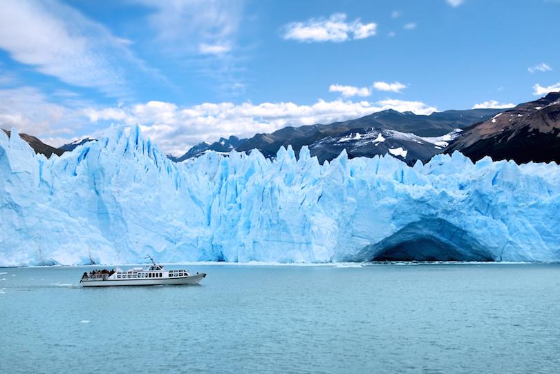 Glaciar Perito Moreno巴塔哥尼亚阿根廷