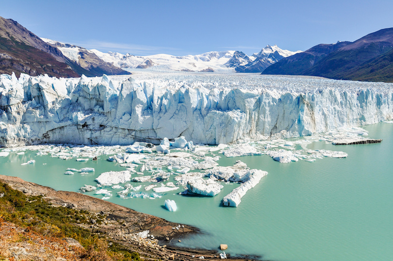 洛斯格拉西亚雷斯国家公园的佩里托莫雷诺冰川
