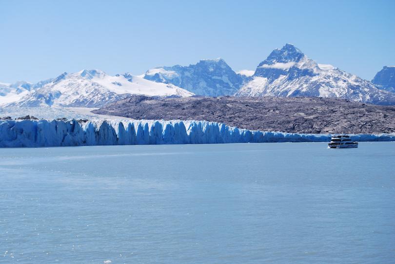 上萨拉冰川