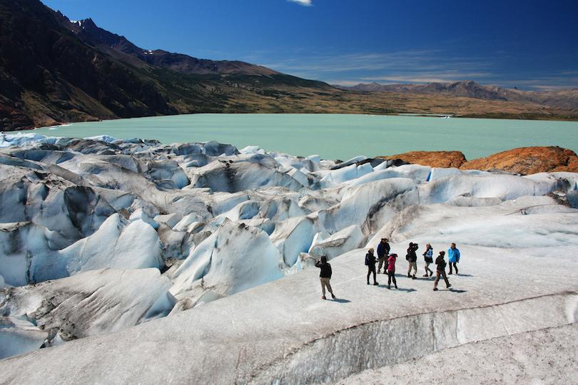 维德玛冰川跋涉