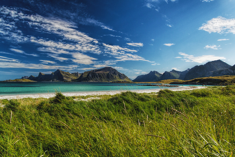 Beach in Lofoten