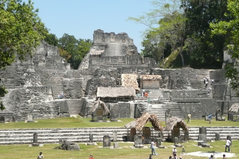 Acropolis at Tikal, Main Plaza