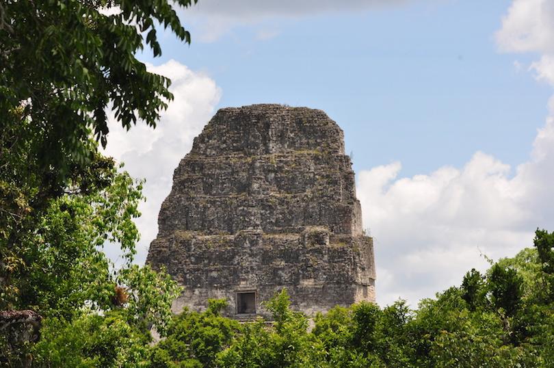 玛雅神庙蒂卡尔