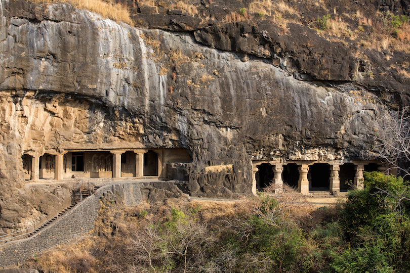 Ellora caves near Aurangabad, Maharashtra state in India