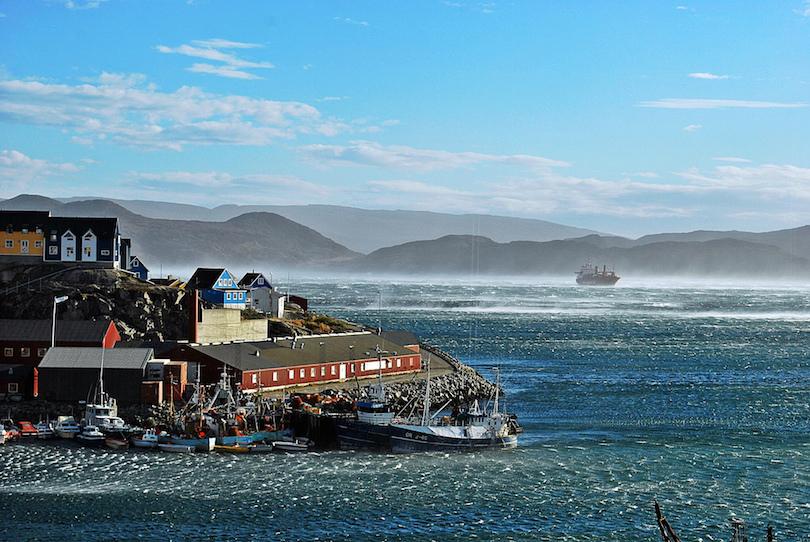 Hotel Qaqortoq view
