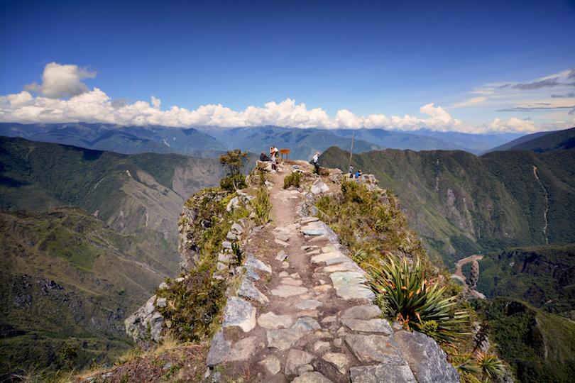Machu Picchu summit