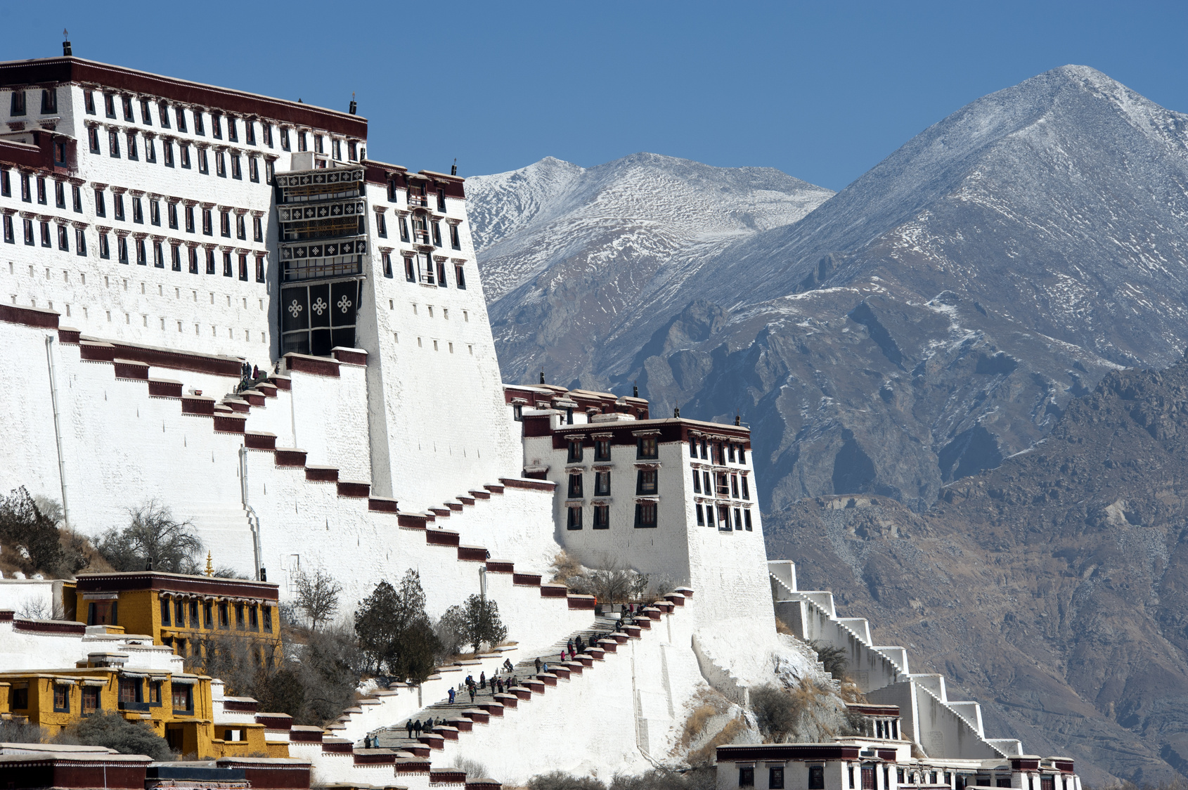 Potala Palace detail, Tibet