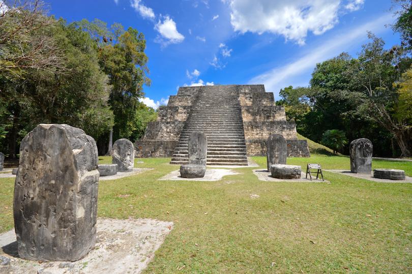 蒂卡尔国家公园和考古遗址,危地马拉的古代结构