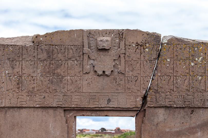 Porta del Sole detail
