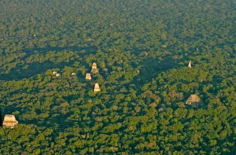 Tikal aerial