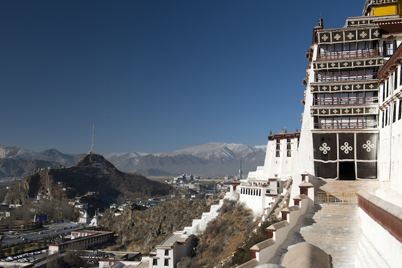 View from the Potala Palace, Tibet
