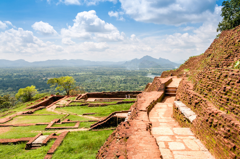 View from Sigiriya Mounatain