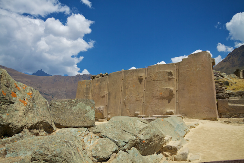 wall of the six monoliths