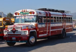 The Colorful Chicken Buses of Guatemala