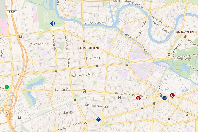 berlin charlottenburg map