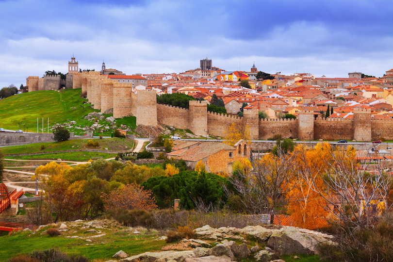 Avila with its famous town walls