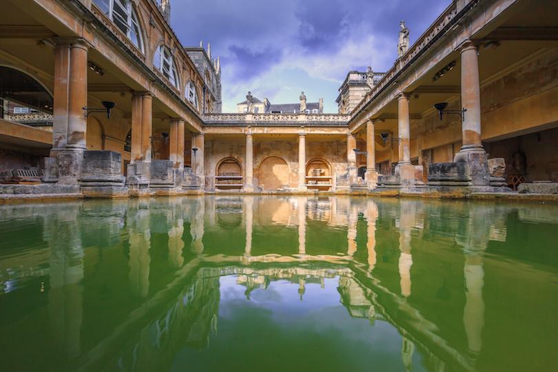 Roman Bath, England