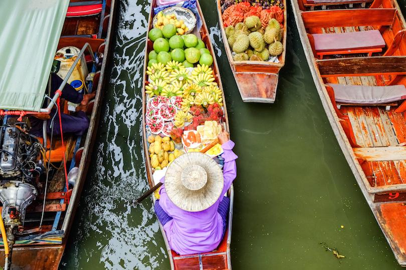 丹嫩沙都水上市场