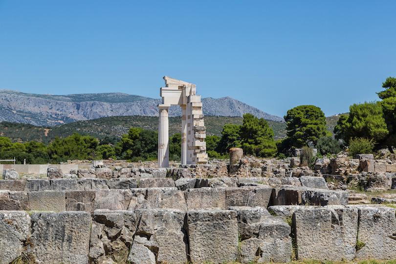Ruins in Epidaurus