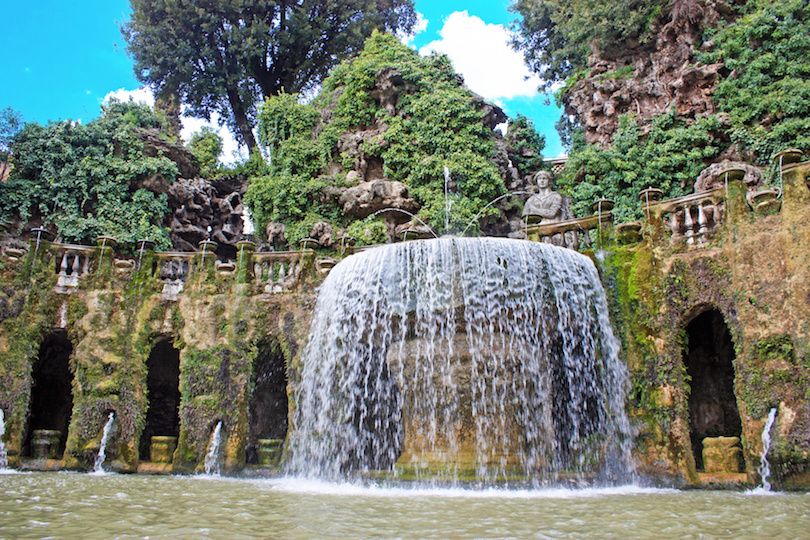 Villa d'Este, Fontana del Nettuno, Tivoli
